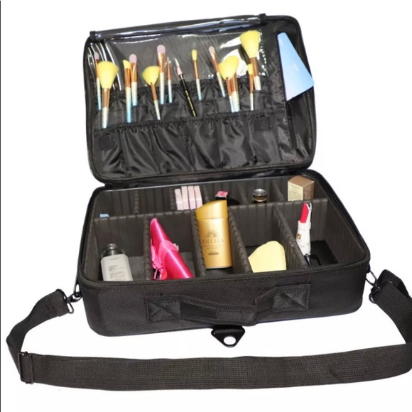 ba7f4190bf85 Relavel Makeup Case Travel Makeup Bag.XL SIZE